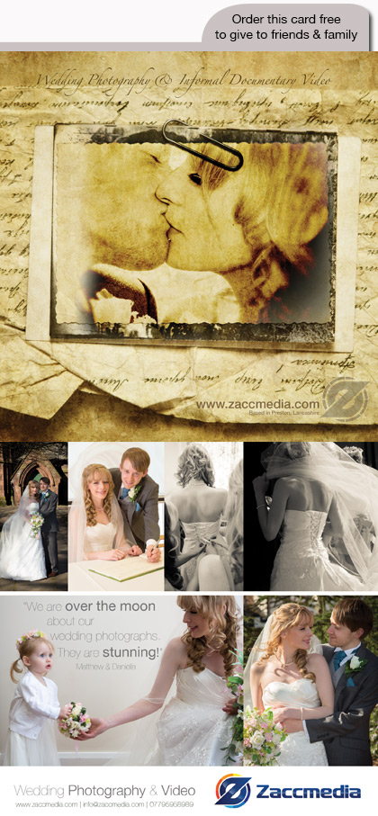 Zaccmedia Wedding Flyer