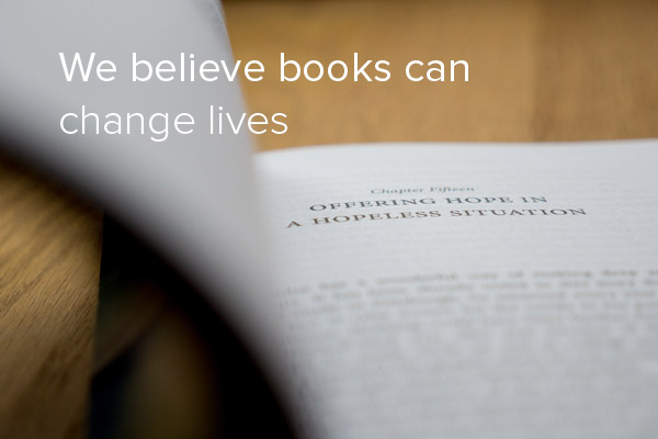 Book publishing changes lives
